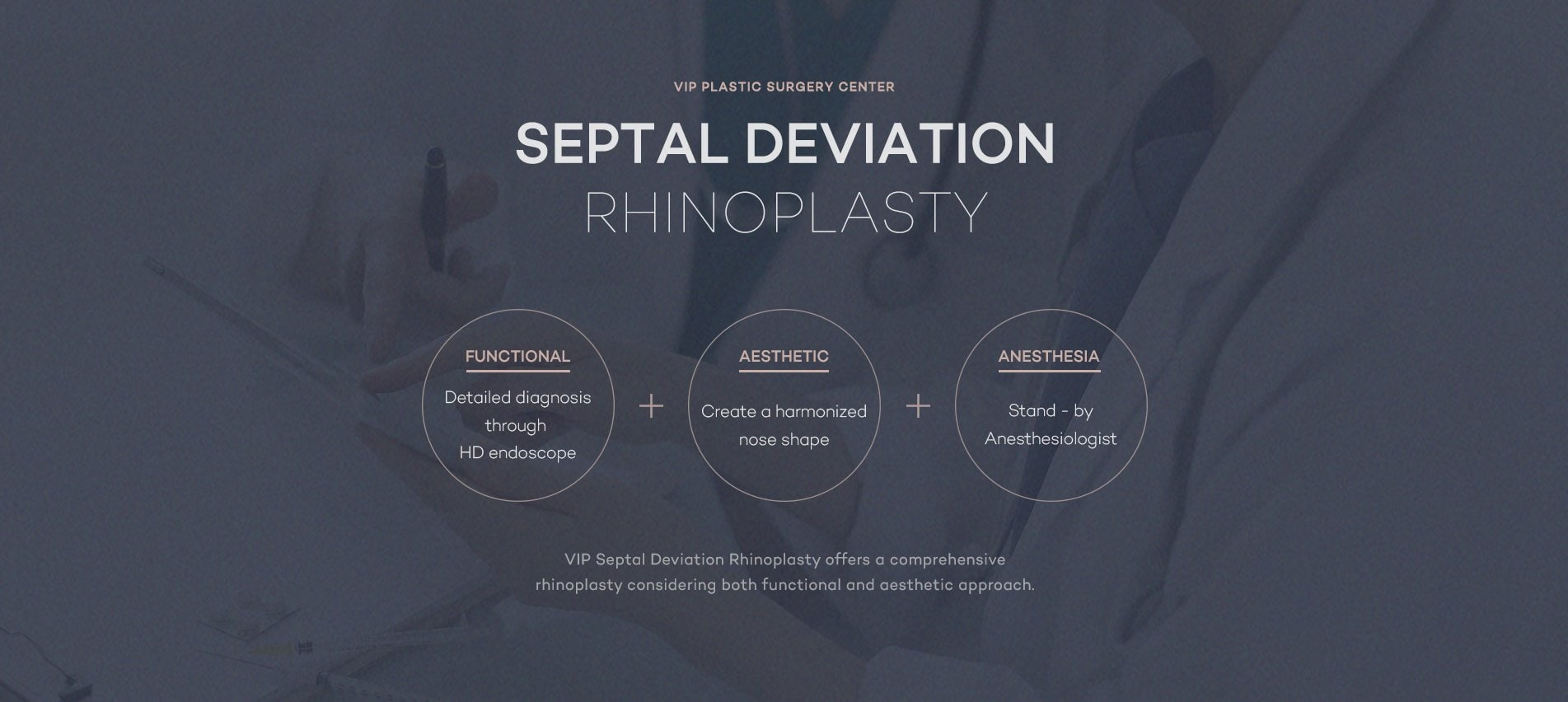 Septal Deviation Rhinoplasty